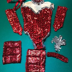 Juniors-Girls Size 10-14 Body Suit And Accessories